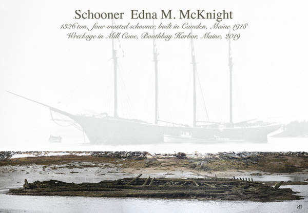 Photograph - Edna's Bones by John Meader