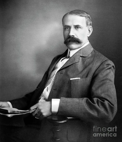 Wall Art - Photograph - Edward Elgar Studio Portrait by English School