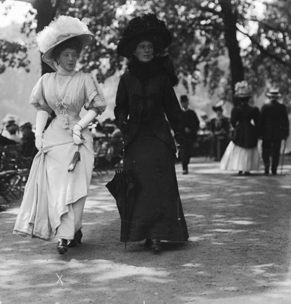 Wall Art - Photograph - Edwardian Ladies by W. G. Phillips