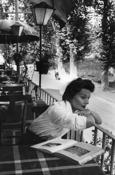 Photograph - Edwige Feuillere by Bert Hardy