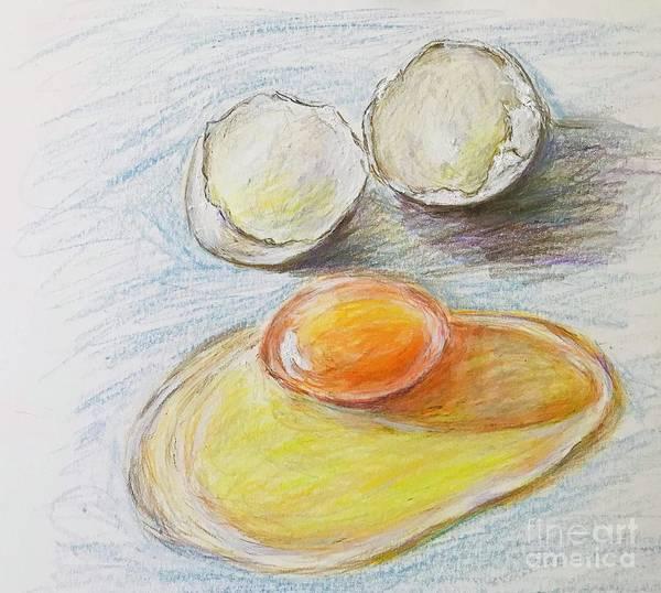 Wall Art - Drawing - Egg  by Lavender Liu