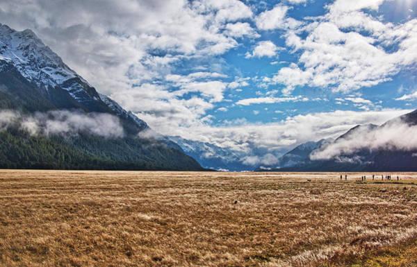 Photograph - Eglinton Valley - New Zealand by Steven Ralser