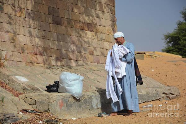 Wall Art - Photograph - Egyptian Cotton Seller by Andrea Simon