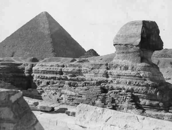 Giza Photograph - Egyptian Ruins by Fox Photos