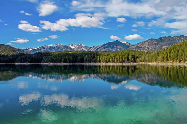 Photograph - Eibsee Lake by Dawn Richards