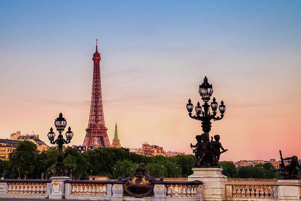 Wall Art - Photograph - Eiffel At Dawn by Andrew Soundarajan