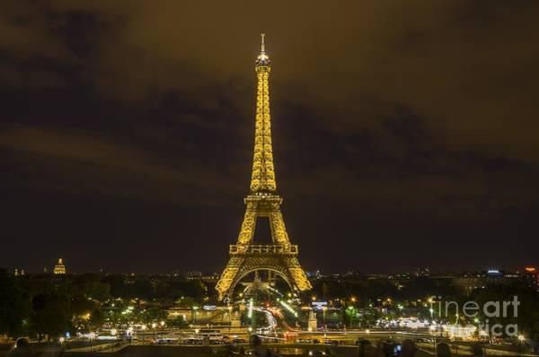 Digital Art - Eiffel Tower 1 by Michael Graham
