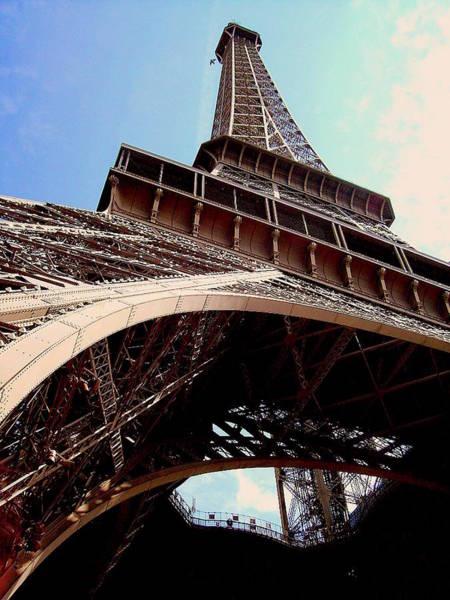 Photograph - Eiffel Tower And Bird by Chance Kafka