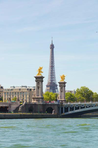Alexandre Photograph - Eiffel Tower And Pont Alexander IIi by Pawel Libera