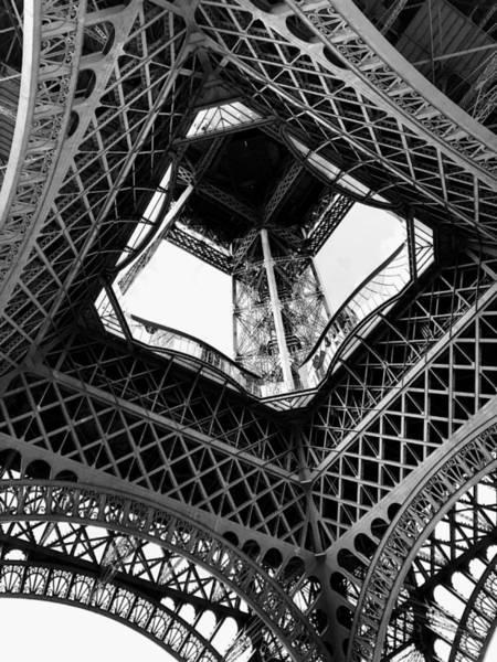 Wall Art - Photograph - Eiffel Tower From Below by Leah Schmidt