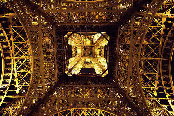 Wall Art - Photograph - Eiffel Tower - Looking Up - Different Perspectives by David Eldridge
