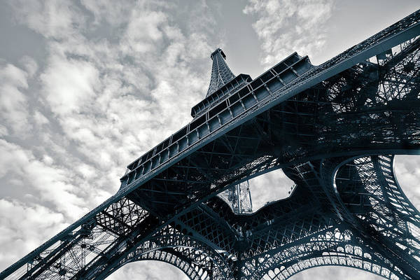 Pasquale Photograph - Eiffel Tower. Low Angle View by Nico De Pasquale Photography