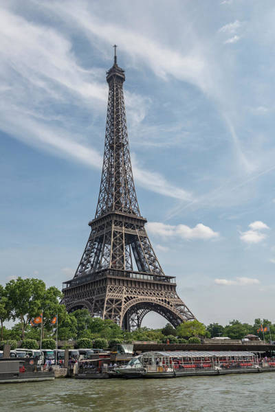 Wall Art - Photograph - Eiffel Tower, Paris, France by Jim Engelbrecht