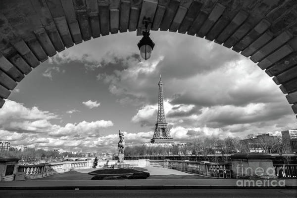 Wall Art - Photograph - Eiffel Tower View by Delphimages Photo Creations