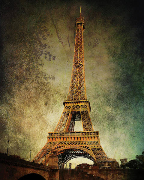 Photograph - Eiffel Tower Vintage by Jemmy Archer