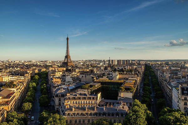Wall Art - Photograph - Eiffel View by Andrew Soundarajan
