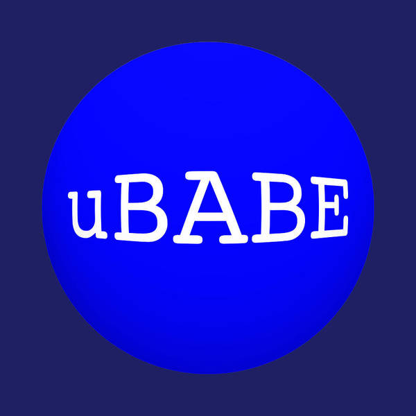 Digital Art - Eight Ball Blue by Ubabe Style