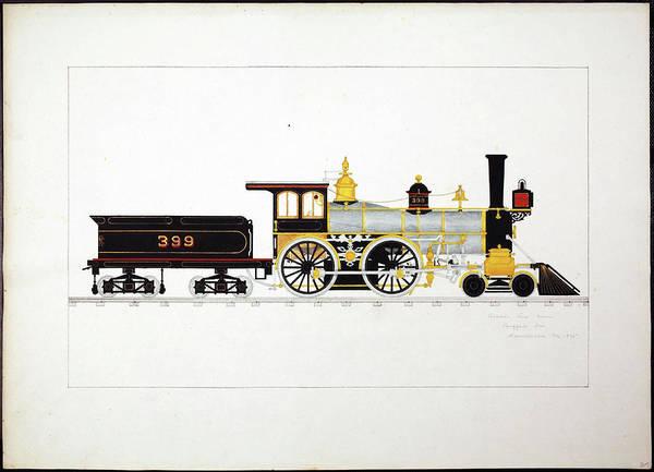 Photograph - Eight Wheeled Locomotive  by Steve Estvanik