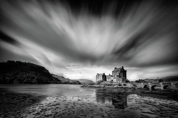 Wall Art - Photograph - Eilean Donan Castle 1 by Dave Bowman