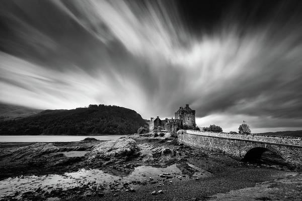 Wall Art - Photograph - Eilean Donan Castle 2 by Dave Bowman