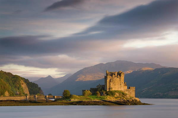 Wall Art - Photograph - Eilean Donan Castle Bathed In Evening by Lee Frost / Robertharding