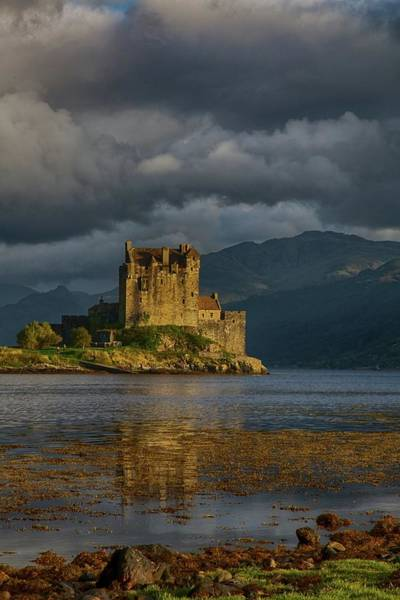 Wall Art - Photograph - Eilean Donan Castle by Perry Mckenna Photography