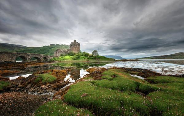 Wall Art - Photograph - Eilean Donan Castle by Philipp Klinger