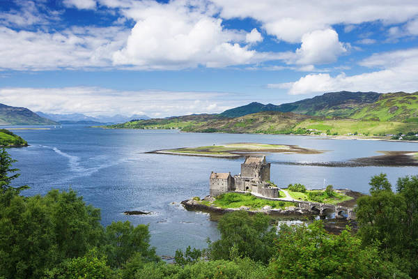 Wall Art - Photograph - Eilean Donan Castle, Scotland by Derek Croucher