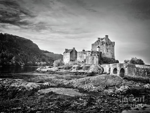 Fortification Photograph - Eilean Donan Castle, Scotland by Delphimages Photo Creations