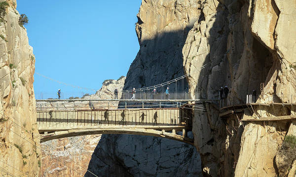 Wall Art - Photograph - El Caminito Del Rey Walkway by Ken Welsh