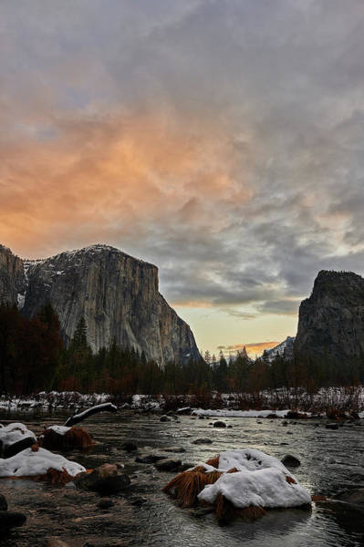 Wall Art - Photograph - El Capitan At Sunset by Jon Glaser