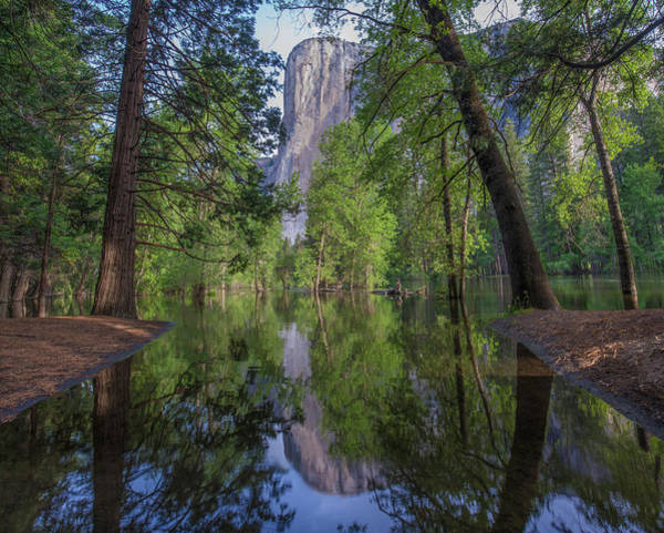 Photograph - El Capitan From Merced River, Yosemite by