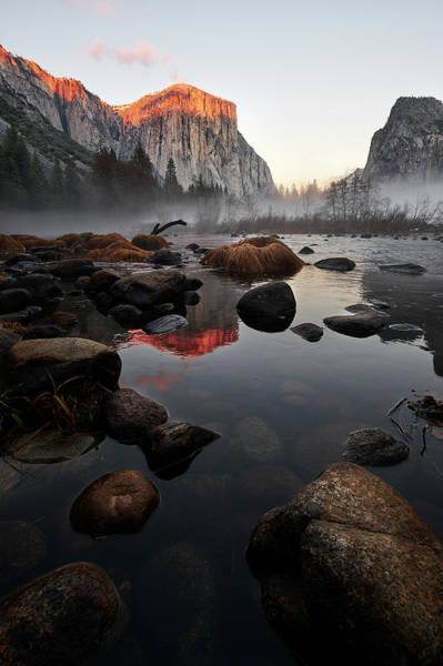 Photograph - El Capitan Reflection by Jon Glaser