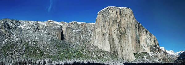 Wall Art - Digital Art - El Capitan Yosemite by RT Bozarth