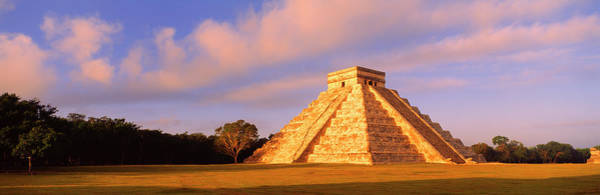 Kukulcan Photograph - El Castillo Chichen Itza Yucatan Mexico by Panoramic Images
