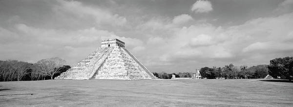 Wall Art - Photograph - El Castillo Pyramid, Chichen Itza by Panoramic Images