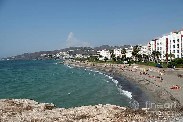 Wall Art - Photograph - El Chucho Beach And Hotel Perla Marina by John Edwards