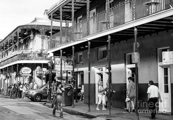 Wall Art - Photograph - El Diablo On Bourbon Street New Orleans by John Rizzuto
