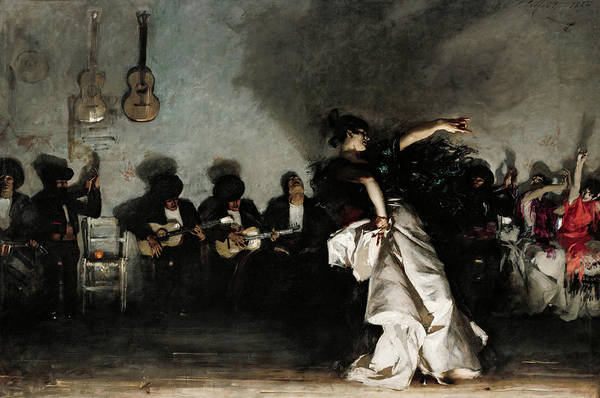 Wall Art - Painting - El Jaleo, 1882 by John Singer Sargent