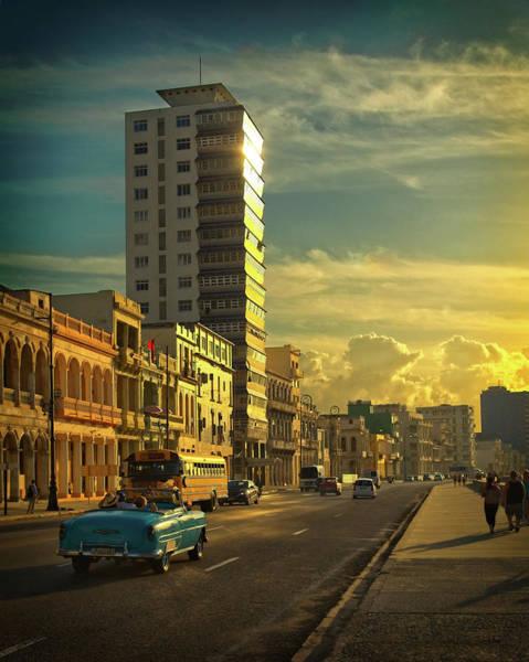Photograph - El Malecon Habanero by Levin Rodriguez