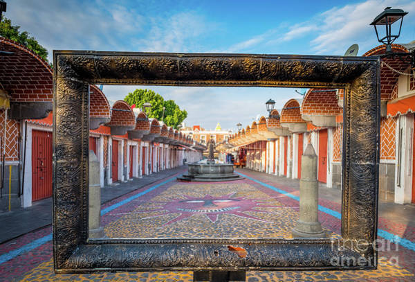 Wall Art - Photograph - El Parian Frame by Inge Johnsson
