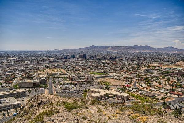 Wall Art - Photograph - El Paso, Texas Skyline  by Chance Kafka