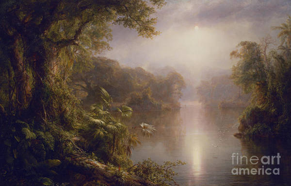 Wall Art - Painting - El Rio De Luz  The River Of Light, 1877 by Frederic Edwin Church