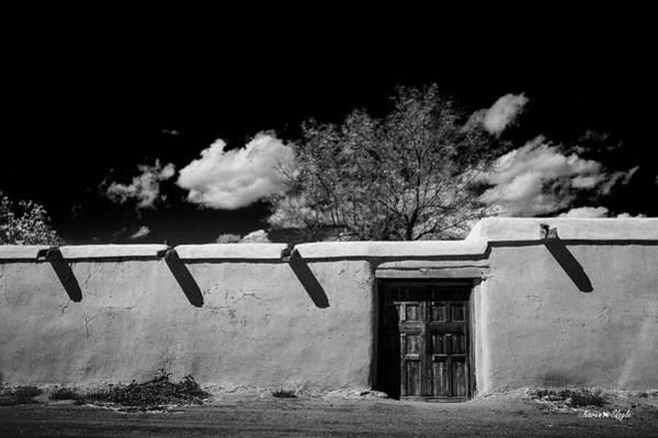 Photograph - El Rito Adobe by Karen Slagle
