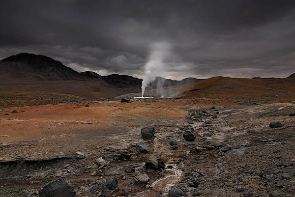 Geothermal Photograph - El Tatio Geothermal Field by © Gerard Prins (562) 275. All Rights Reserved.