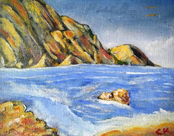 Painting - Elba Seascape by Chance Kafka