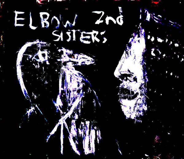 Digital Art - Elbow Sisters 2nd Bird Keeper by Artist Dot