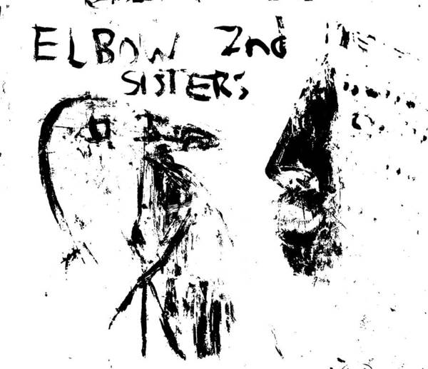 Digital Art - Elbow Sisters 2nd Bird Keeper White by Artist Dot
