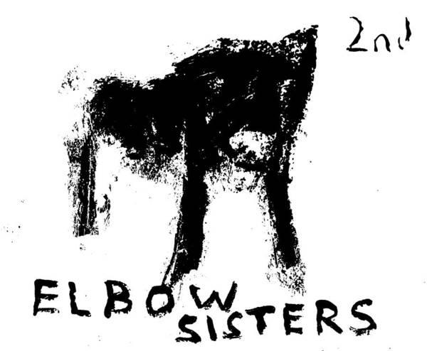 Digital Art - Elbow Sisters 2nd Black Dog by Artist Dot