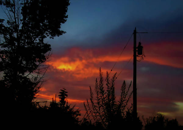 Photograph - Electric Dawn by Jack Wilson